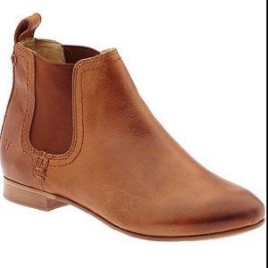 Frye Jillian Chelsea Ankle Boot Size 8 in Whiskey